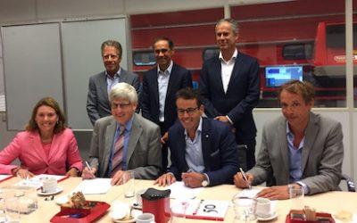 Ondertekening samenwerkingsovereenkomst Gildehof