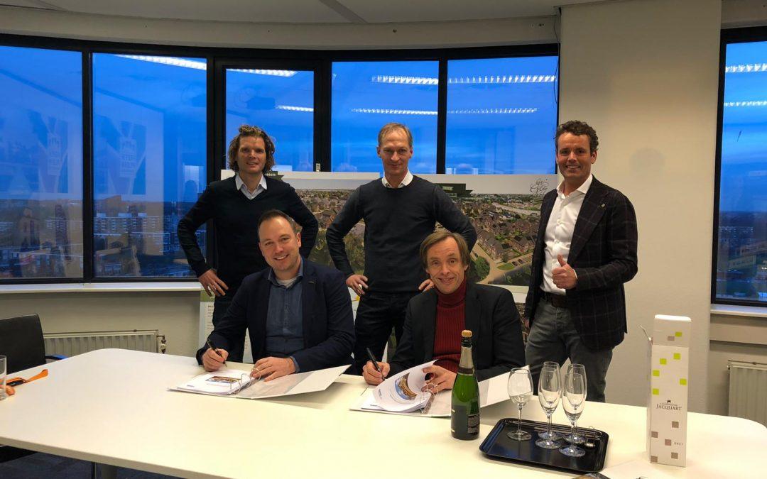 Projectovereenkomst Het Gildehof getekend